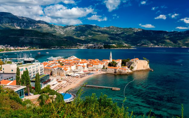 Budva view on Old Town 625x391